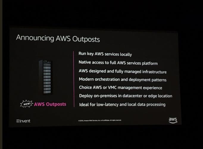 本地也能运行AWS?是的,AWS开始进军混合云领域了