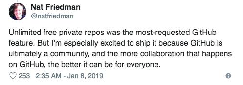 GitHub 重磅更新:无限私有仓库免费使用