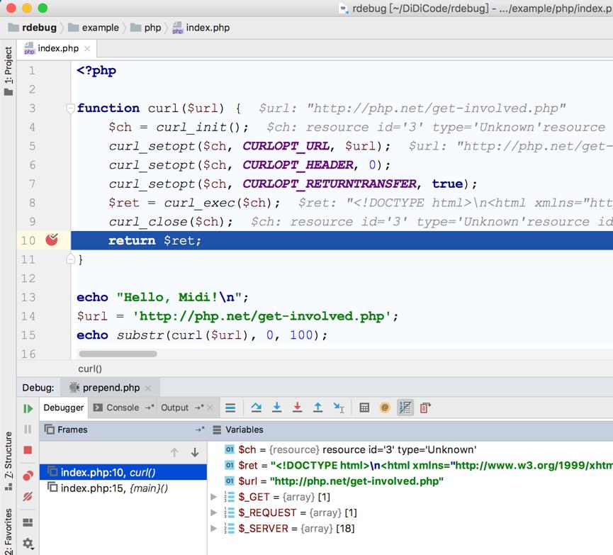 滴滴开源支撑业务代码重构工具Rdebug