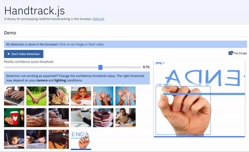 Handtrack.js 开源:3行JS代码搞定手部动作跟踪