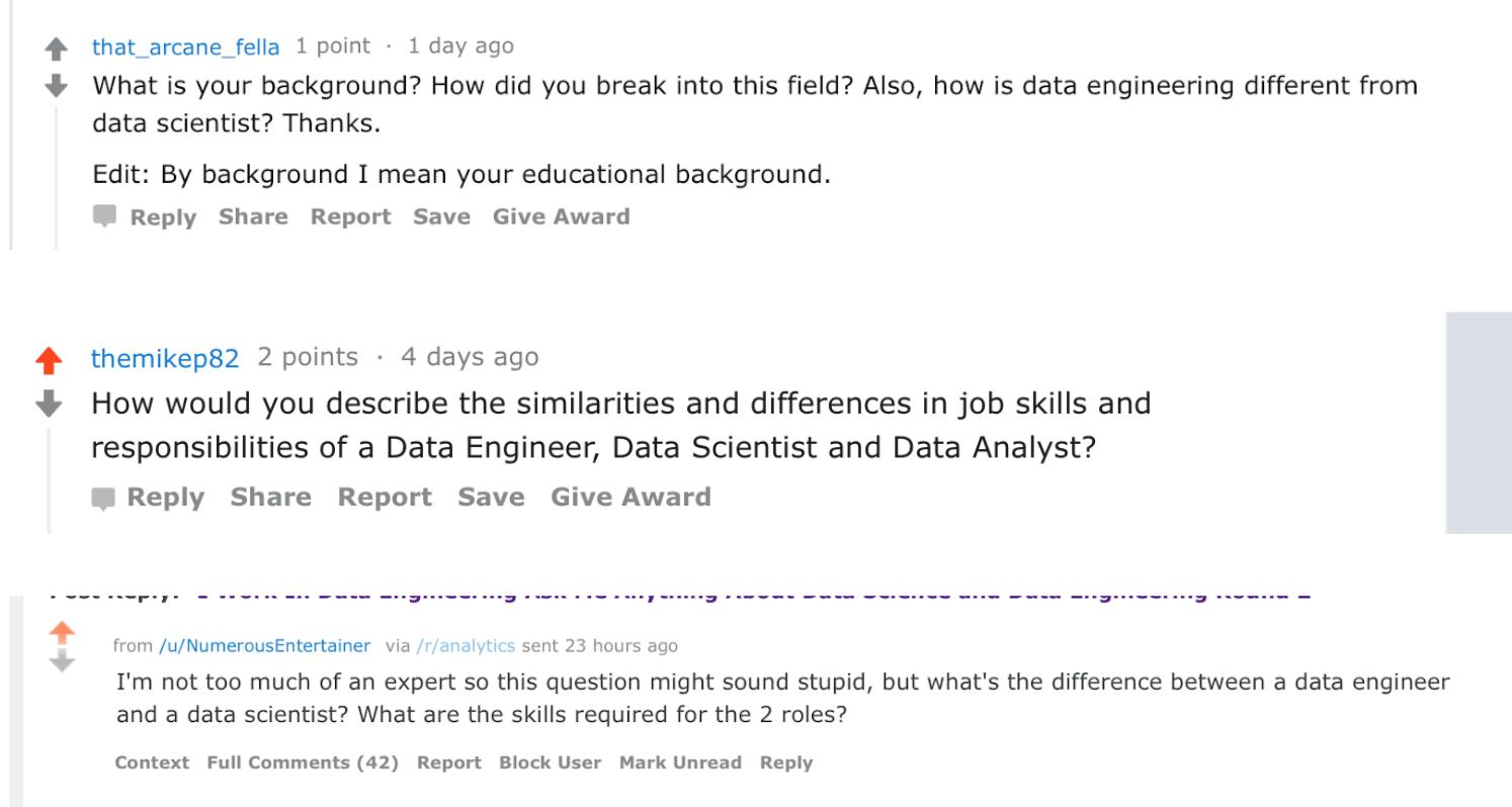 数据科学家和数据工程师之间到底有什么差别?